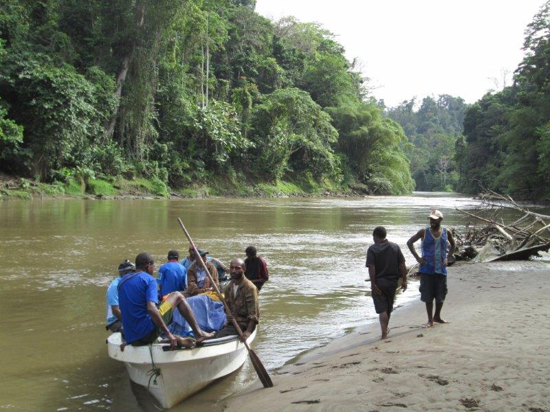 16. Another break on the Lohiki River
